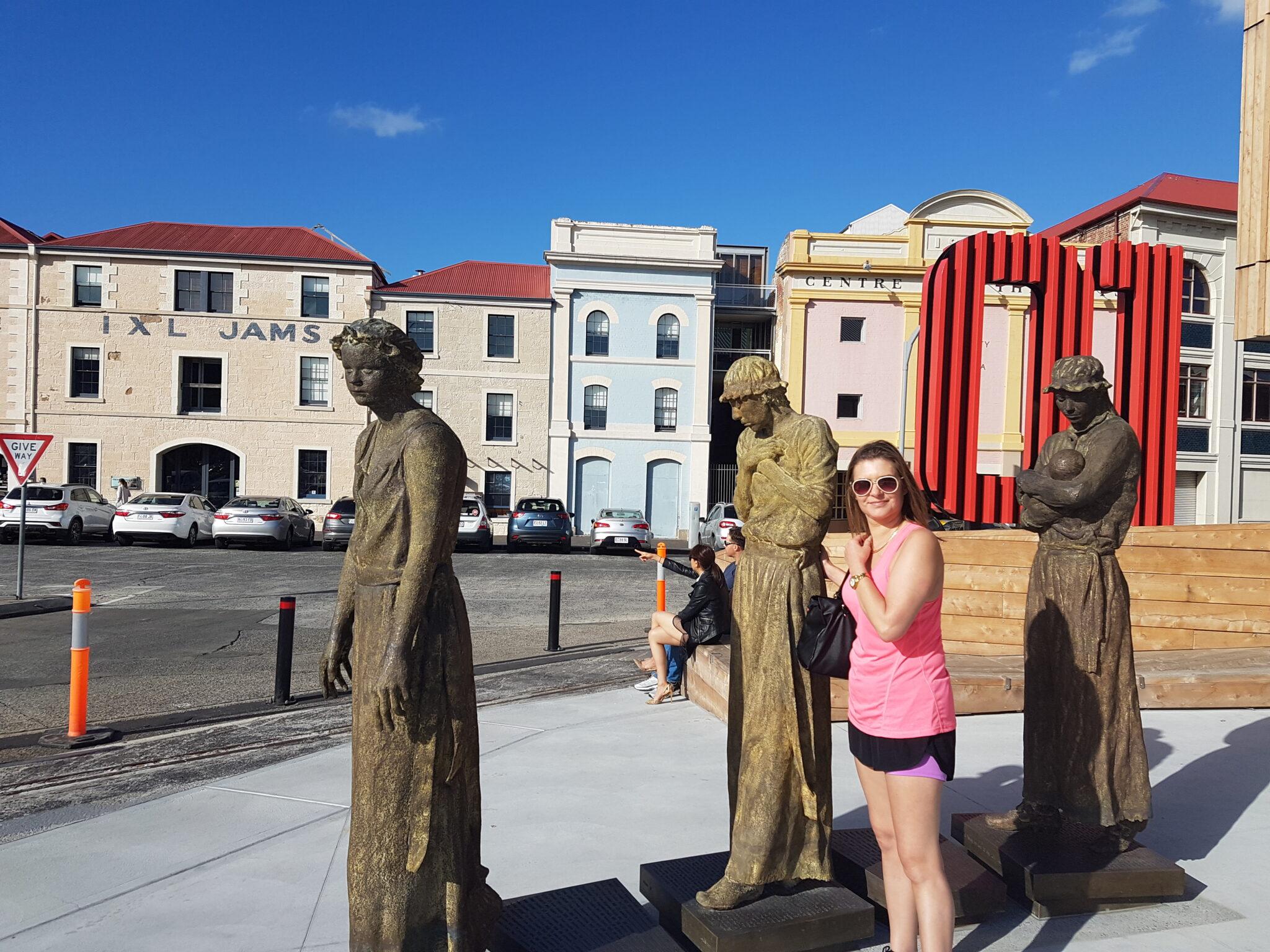Unwilling pioneers statues